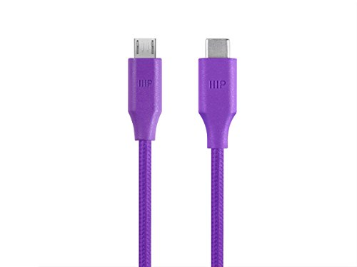 Monoprice Palette USB C Purple 114961