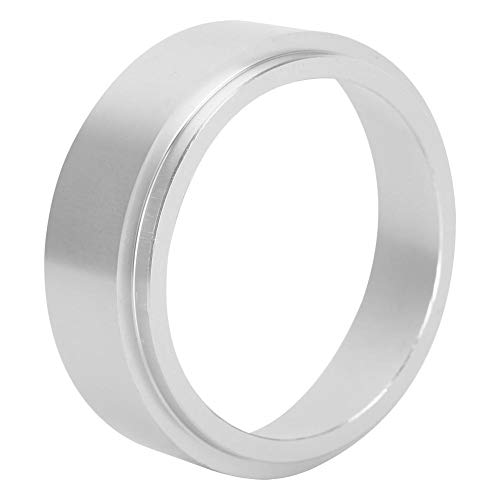 Dosing Funnel, Aluminum Coffee Dosing Ring Coffee Powder Funnel Espresso Barista Tool for Home(51mm)