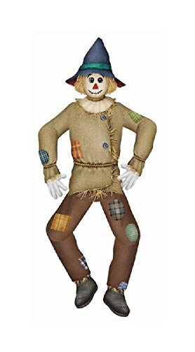 - Bargain World Large Jointed Scarecrow, 5 Feet Tall (with Sticky Notes)