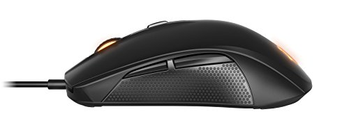 SteelSeries Rival 100, Optical Gaming Mouse - Black