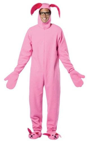 Christmas Story Bunny Costumes Suit (Morris Costumes Christmas Story Bunny Adult)