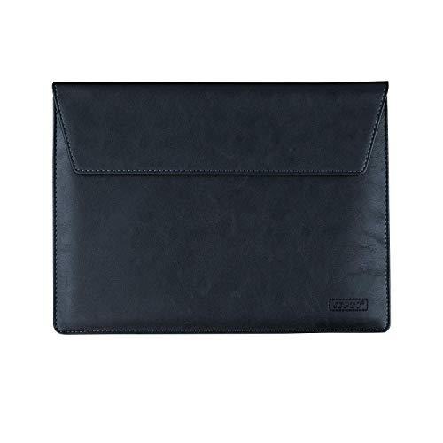 "Travel Faux Leather 10.1"" Tablet Sleeve 10.5 inch Laptop Bag Case for Samsung Galaxy Tab A/Tab S4 / Tab S3 / Tab S2 / Tab 4 / Galaxy Note/Transformer Book T101HA / Mini T102HA / Pad (Black)"