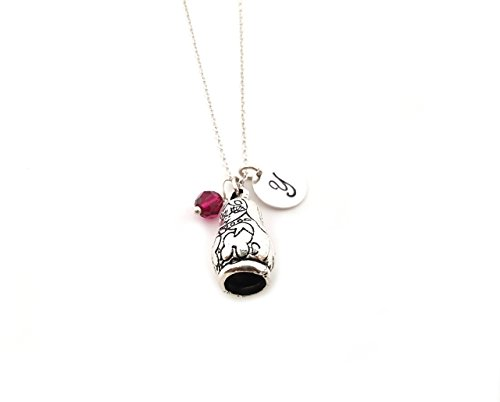 Russian Doll Charm Necklace - Personalized Sterling Silver Jewelry