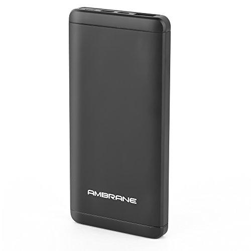Ambrane Plush PQ 800 Quick Charge C Port 8000 mAh Power Bank Black