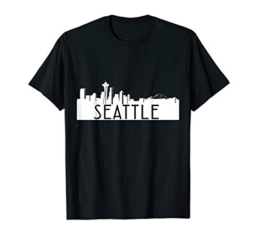 Seattle Skyline T Shirt