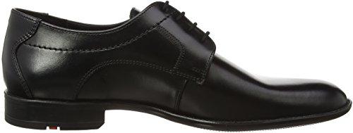 Lloyd Garvin, Zapatos de Cordones Derby para Hombre Negro (Negro 0)