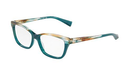 Marco 53 Verde Mikli Sfumato E Mujer Gafas Marrone Verde Cristallo Alain S5vcPWP