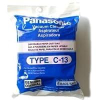 Bolsas tipo C-13 de Panasonic # AMC-S5EP - Original - Paquete de 5