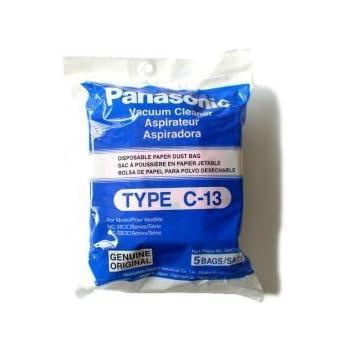 Panasonic C-13 Bags, AMC-S5EP, 5, White