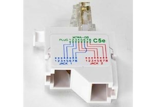 Superb Amazon Com 10 100 Baset Rj45 1P 2J Type 8 Wiring Splitter Pigtail Wiring 101 Capemaxxcnl
