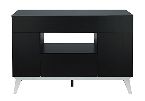 ioHOMES Giulia Modern Buffet Table, Black by HOMES: Inside + Out