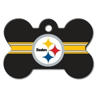 Pet Care Preferred Pittsburgh Steelers Bone ID Tag