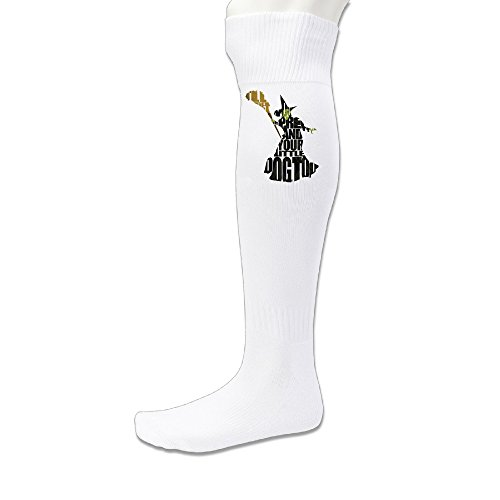BFF Youth Field Running Soccer Socks Leisure Wicked Witch Musical White (Wicked Witch Socks)
