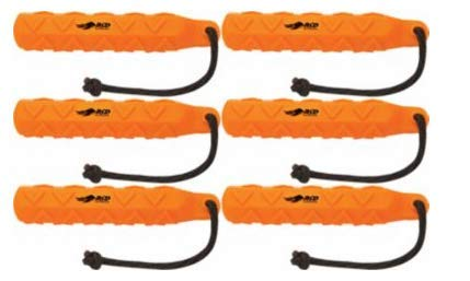Avery Greenhead Gear GHG, Sport Dog Training Hexa-Bumper, Orange (6-Pack)