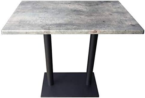 Mathi Design Oakland Table Repas Grise Amazon Fr Cuisine Maison
