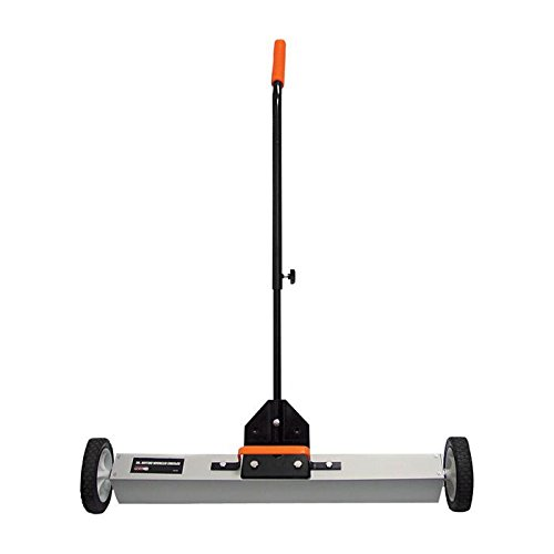 30in- Magnetic Sweeper With Wheels,Telescopic Rolling Magnetic Sweeper,Industrial Magnetics. by CENTER
