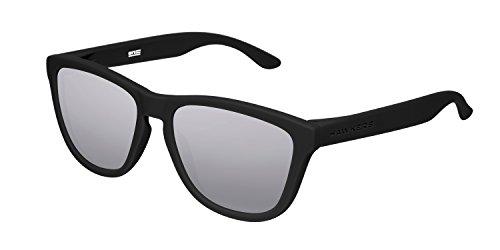 Hawkers Adulto de Carbon Sol Espejado Gafas One Unisex Gris Negro rprxaqw