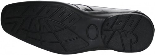 Business-schuhe Halbschuhe aus echtem Rindsleder Schuhe schwarz
