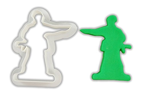 Toy Soldier Cookie Cutter - LARGE - 4 Inches