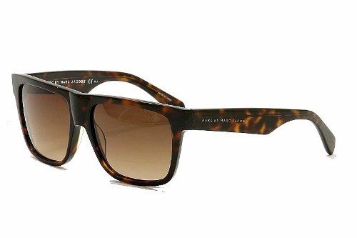 ceb617ddd12 Marc by Marc Jacobs Sunglasses MMJ 333  S TVDJ6 Acetate plastic Havana  Gradient Brown  Amazon.co.uk  Clothing