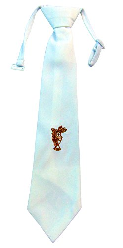 Boys First Holy Communion Gold Embroidered Chalice Design