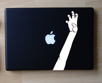 Put Your Paws up Lady Gaga Inspired - White - Decal for 13