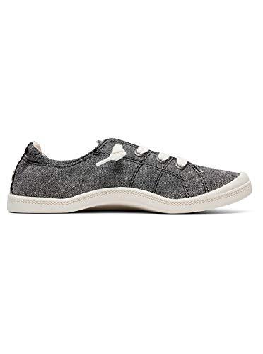 Roxy Pour Black Femme Arjs600418 Chaussures Noir Bayshore SFwq6rS