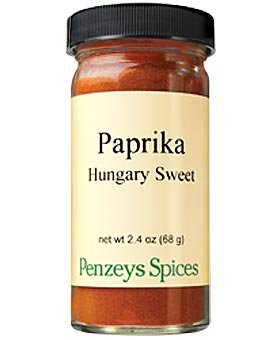Hungarian Style Sweet Paprika By Penzeys Spices 2.4 oz 1/2 cup jar
