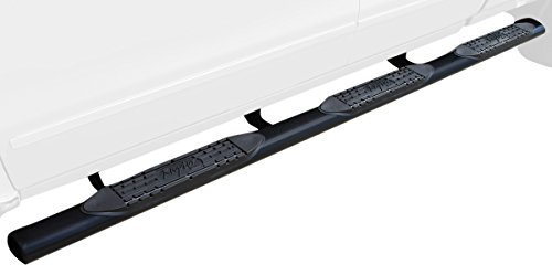 Rough Country W2W Nerf Bar Hoop Steps Compatible w// 2007-2013 Chevy Silverado GMC Sierra Double Cab 6.5 FT Bed RCC0789QC