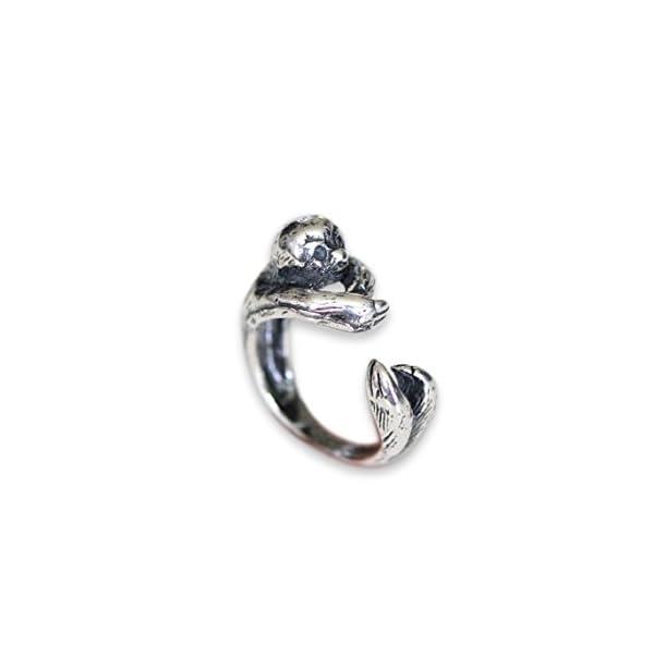 Moon Raven Designs Sloth Ring -
