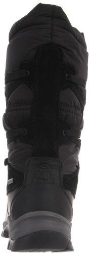 Kamik MountroseG NK2099 - Botas de nieve de nailon para mujer Negro
