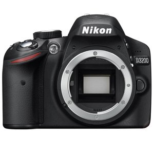 Nikon D3200 24.2 MP CMOS Digital SLR - Body Only (Certified Refurbished) - Edge Tech Digital Picture Frame