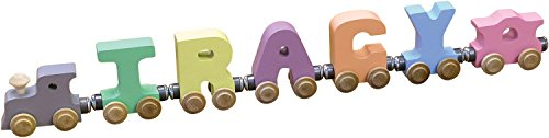 5 Letter Pastel NameTrain - Made in USA