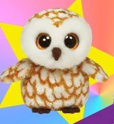 Ty Beanie Boos Swoops Brown Barn Owl Plush (Beanie Boos Sports)