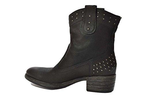 Negro de Zapatos Giardini mujer de negro negro vestir para Piel Nero ZICq81ww