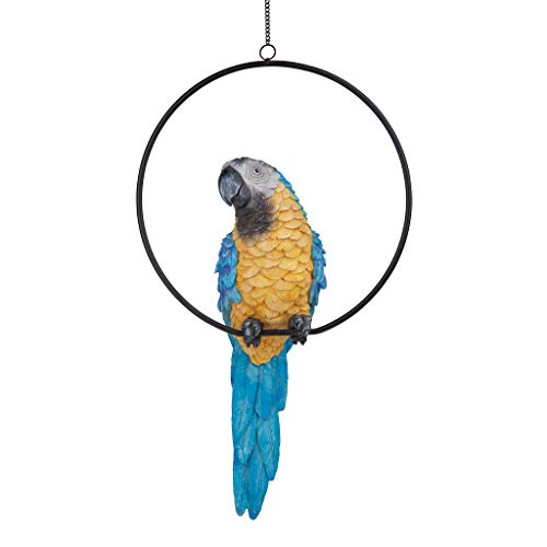 Design Toscano Polly in Paradise Parrot Statue Size: Large