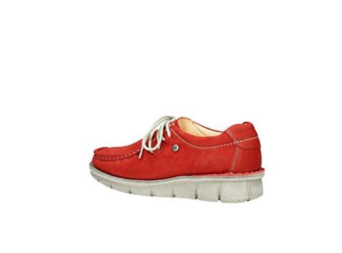 Wolky Gila 10570 Red Nubuck