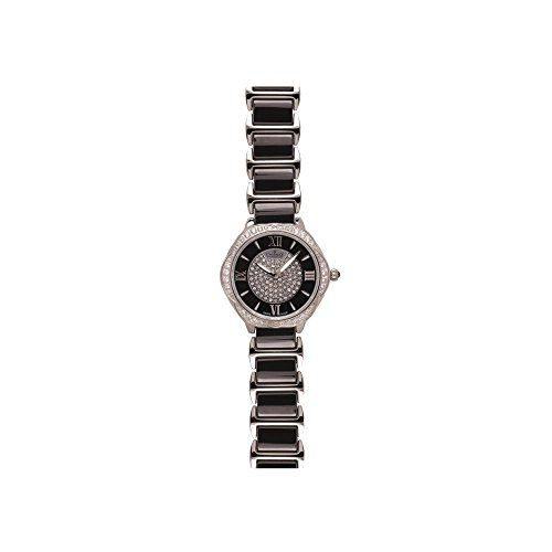 Charmex Women's Rodeo Drive 34mm Multicolor Steel Bracelet & Case Swiss Quartz Silver-Tone Dial Watch 6290