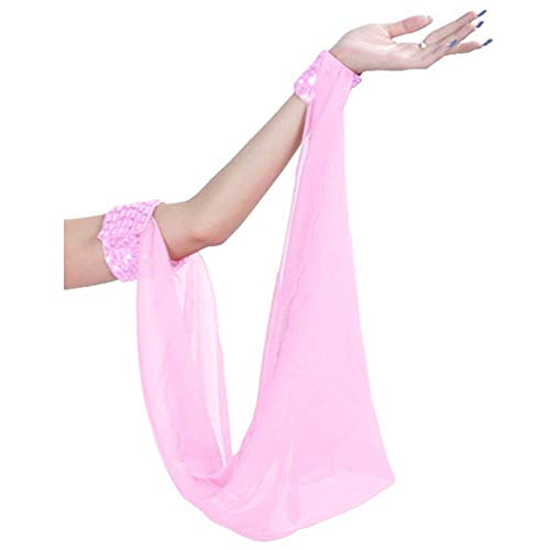 Zumba Halloween Costumes Ideas - (Price/Piece) Belly Dance Chiffon Oversleeve Arm