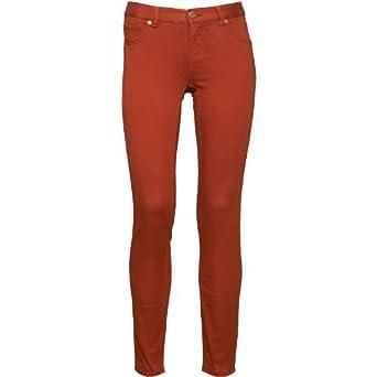 e6104f1b5 Womens Ted Baker Super Skinny Jeans Dark Orange Girls Ladies (25 Size 0 UK 6
