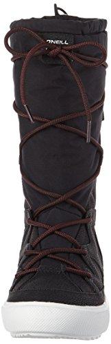 O'Neill Women's Montebella Nylon Snow Boots Schwarz (Black (9900)) WglUxcgWYt