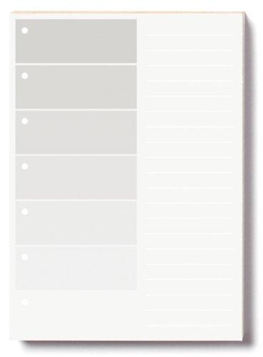 Whitelines Orange Glue A6 Project Notepad