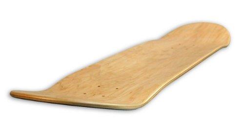 FORESTONE Blank/Natural Skateboard Decks - 8.0 inches-Medium Concave (Skateboard Deck Skateboards Decks)