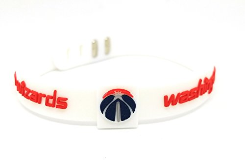 fan products of SportsBraceletsPro ADJUSTABLE Team Bracelets Adult Size Basketball (Wizards)
