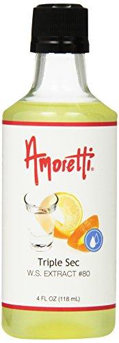 Amoretti Triple Sec Extract, 4 Fluid Ounce
