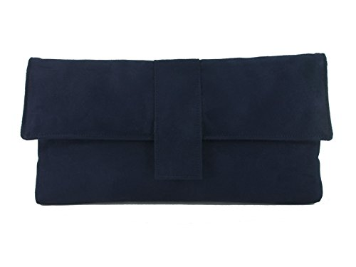 Loni - Handbag (artificial Silk With Shoulder Strap) Dark Navy Blue