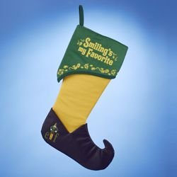 BUDDY THE ELF THE MOVIE ''SMILING'S MY FAVORITE'' STOCKING
