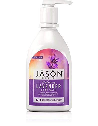 Jason Body Wash Pure Natural Calming Lavender — 30 fl oz – 2pc