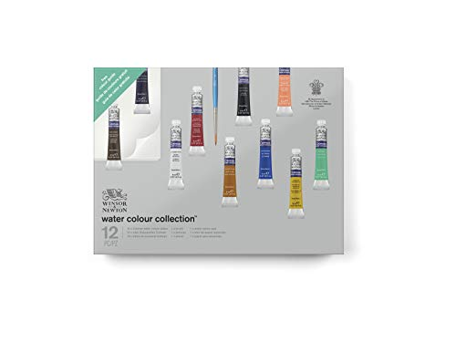 Newton Cotman Watercolour Tube - Winsor & Newton Cotman Water Colour Paint Gift Collection, Set of 10, 8ml Tubes
