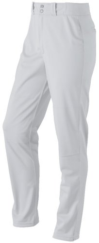 Wilson Men's Classic Relaxed Fit Baseball Pant, White, Large - Relaxed Fit Baseball Pants